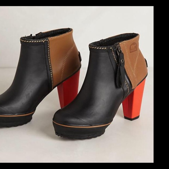 ed44298419c Sorel Medina Rain Ankle Boots
